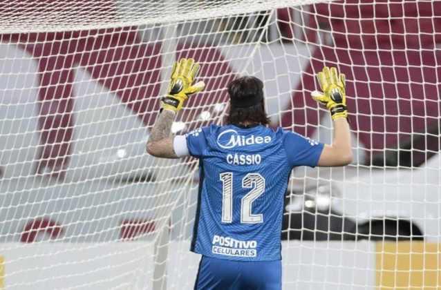Ídolo do Corinthians, Cássio está no clube desde 2011