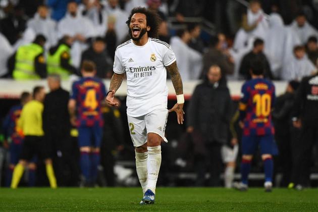 Ídolo do Real Madrid, o lateral-esquerdo Marcelo tem 20 assistências na história da Champions League.