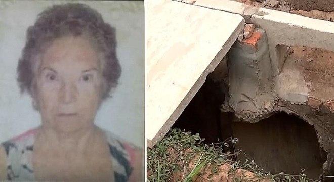 Ana Alice, de 84 anos, morreu quando andava a caminho do posto de saúde