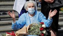 Mulher de 111 anos de idade supera a covid-19 na Geórgia