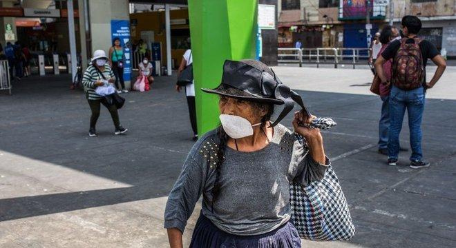 Peru já tem centenas de infecções por coronavírus