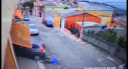 Idoso cai no chão, infarta e morre no momento do assalto