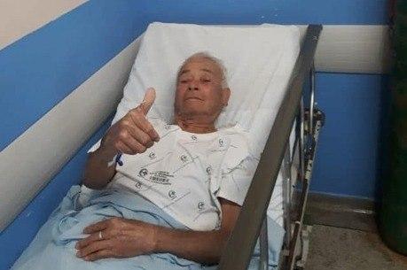 Homem foi levado para hospital de Itapetininga (SP)