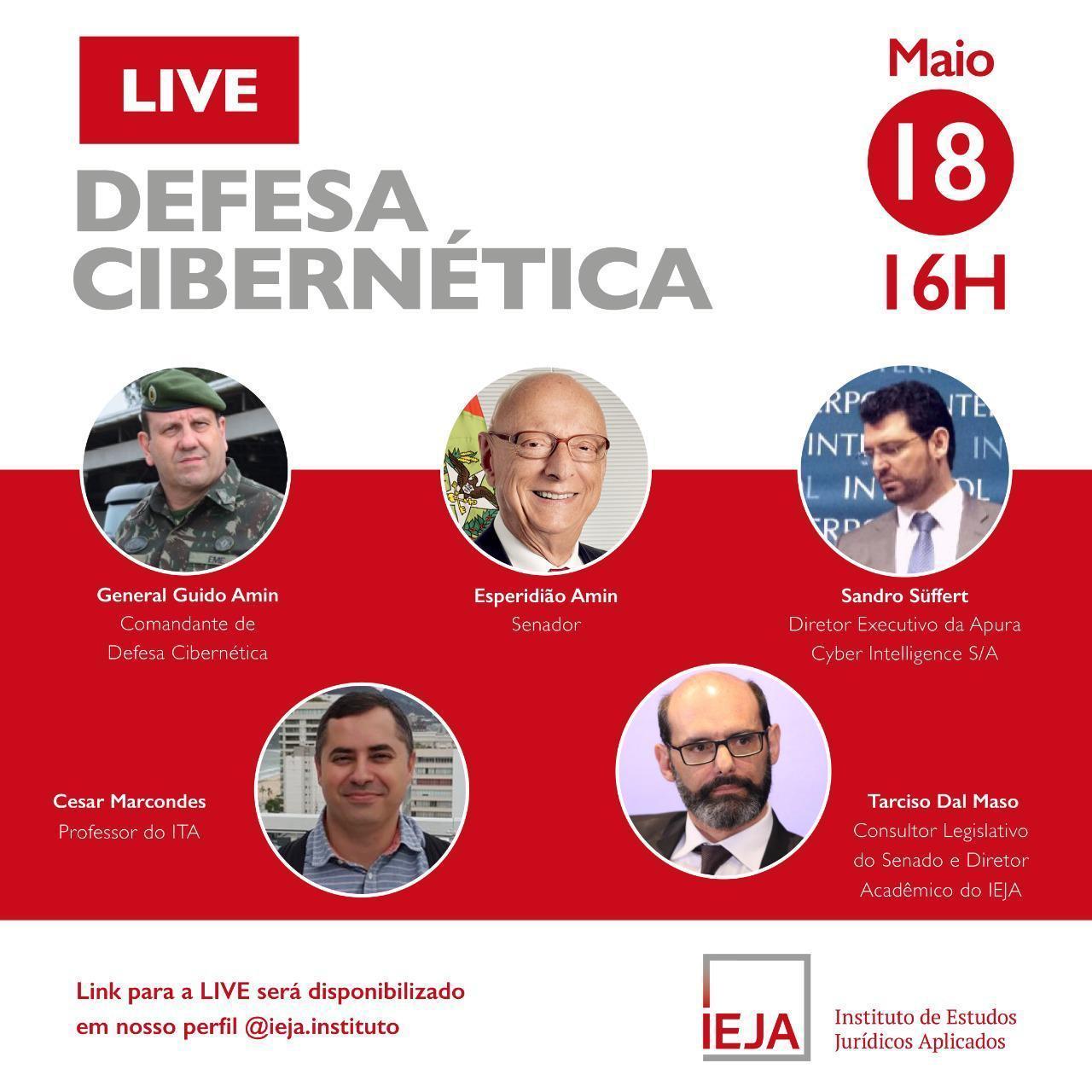 Ieja faz live nesta segunda-feira para discutir as ameaças no ambiente digital