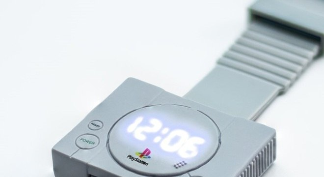 f408fbd1aba Você usaria este relógio oficial retrô do PlayStation  - Tecnologia ...