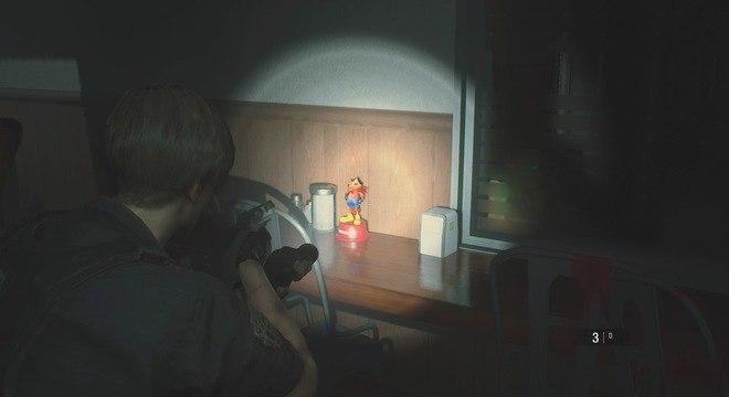 urandir   TECNOLOGIA   Resident Evil 2: Localização de todos Mr. Raccoon