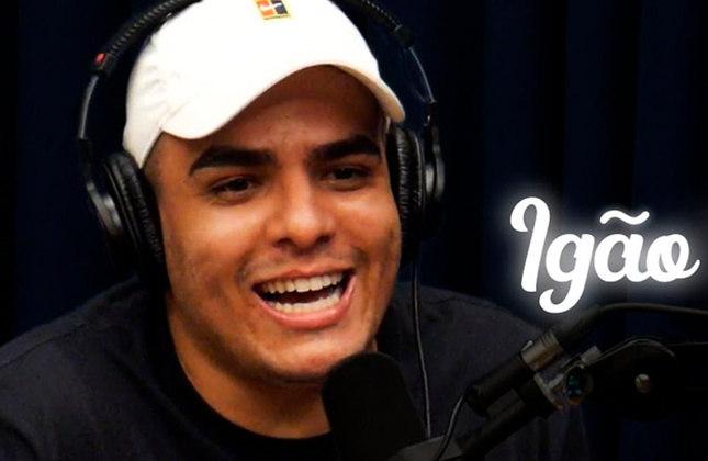 Igor Cavalari - Protagonista de um dos podcasts mais famosos do país, o