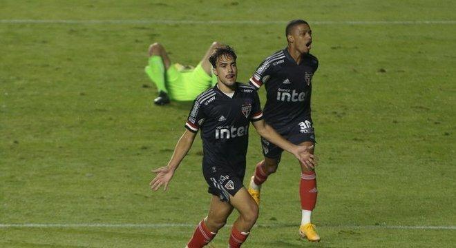 Igor Gomes marcou gol da virada. Mas deixou claro o quanto São Paulo jogou mal
