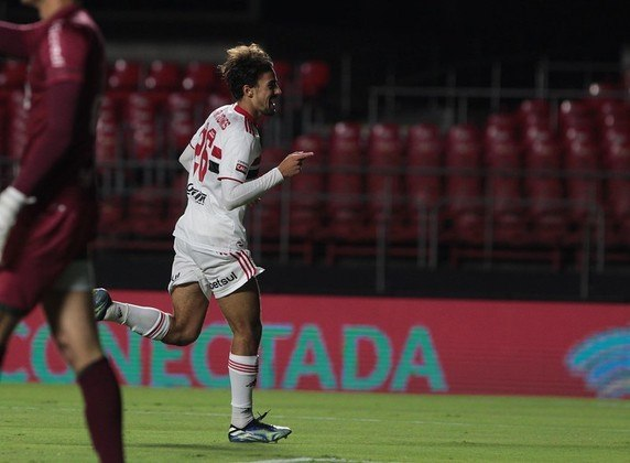 Igor Gomes - 1 gol: o meia marcou na vitória sobre o Guarani, no Morumbi, por 3 a 2.