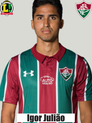 IGOR JULIÃO - 5,0 - Lutou para dar apoio à equipe na frente. No entanto, deixou brechas para o Palmeiras avançar e foi envolvido em alguns momentos em investidas de Gabriel Veron e Scarpa.
