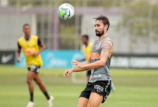 Igor Morais foi um dos atletas do elenco sub-23 que treinaram com o grupo principal