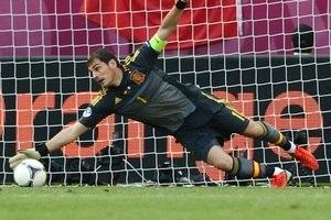 O goleiro  O espanhol Iker Casillas 2b6cebbdba478