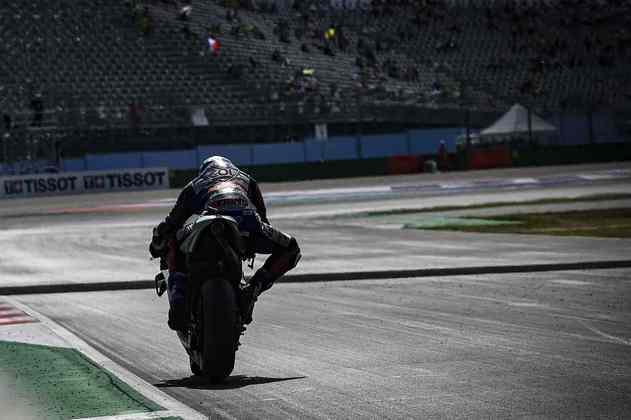Iker Lecuona não terminou a corrida