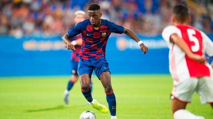 Ilaix Moriba - Meio-campista - 17 anos - Barcelona B