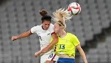Seleção feminina da Suécia surpreende e vence EUA no futebol