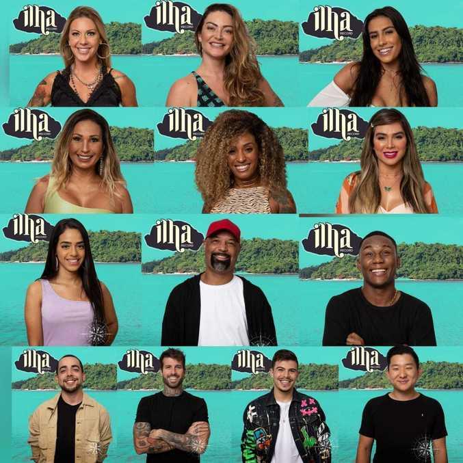 Conheça os 13 participantes do reality Ilha Record