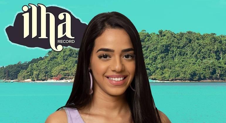 Mirella Gêmea Lacração é a segunda Exilada da Ilha Record