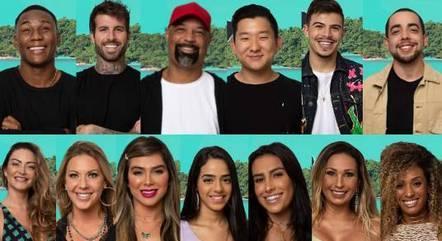 Os 13 participantes do reality 'Ilha Record'