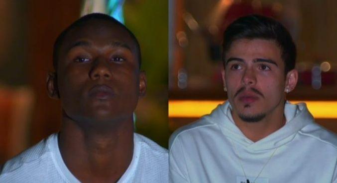 MC Negão da BL e Thomaz Costa se enfrentam no Desafio de Sobrevivência