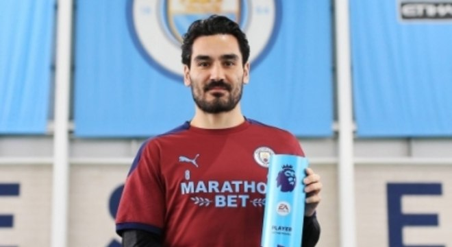 Ilkay Gündogan - Manchester City - Melhor jogador do mês de fevereiro da Premier League