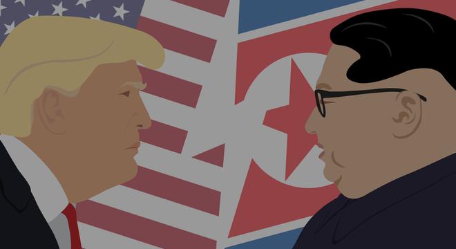 O encontro entre Trump e Kim Jong-un está marcado ocorrer nesta terça-feira em Cingapura