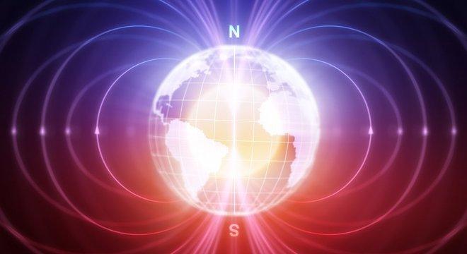 O campo magnético da Terra está mudando rapidamente