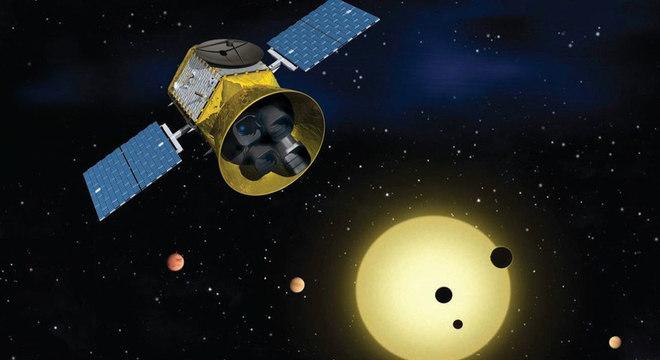 Missão Tess almeja mapear uma grande porção do céu em busca de exoplanetas que orbitem estrelas