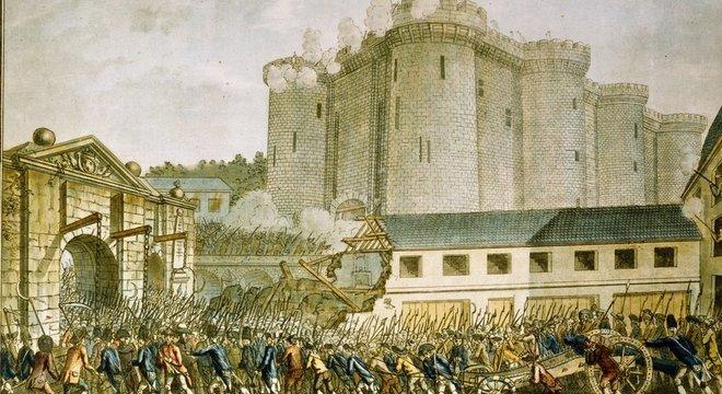 A queda da Bastilha mudou completamente o foco da exibição de figuras de cera