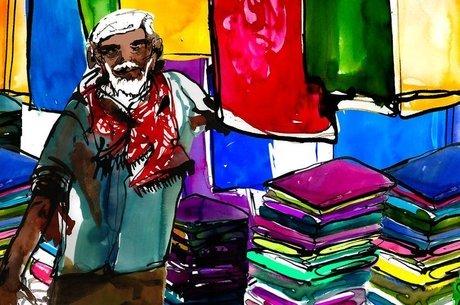 Abu Taher, que processou o filho, tinha uma loja pequena de roupas e diz que passou dificuldades após se aposentar