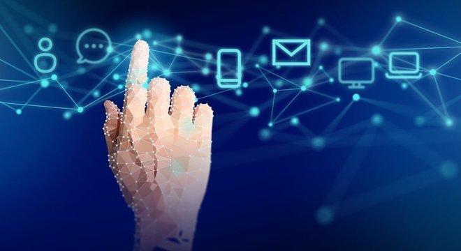 Conversas fluem muito mais rápido por meio de mensagens instantâneas do que por e-mail