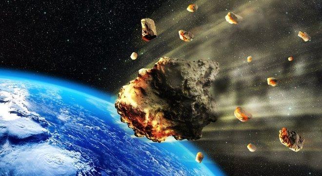 A Terra é atingida por diversos objetos vindos do espaço todos os dias