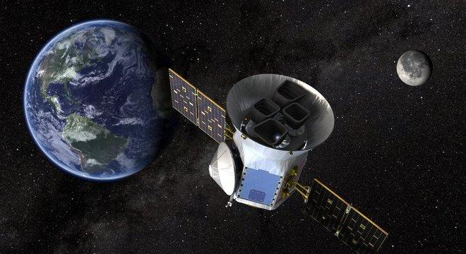 O Tess foi lançado ao espaço pela Nasa há um ano, exatamente em julho de 2018