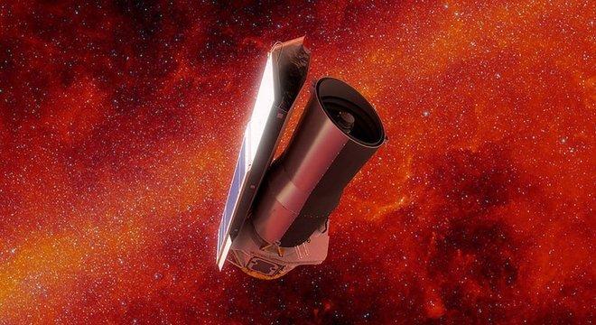 O Spitzer foi o único telescópio capaz de observar o fenômeno