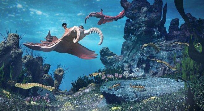 A vida tornou-se mais difundida e complexa após a 'Explosão Cambriana', há cerca de 540 milhões de anos
