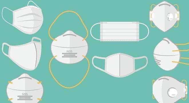 Combinadas com medidas de distanciamento, as máscaras podem ajudar a retomar a economia