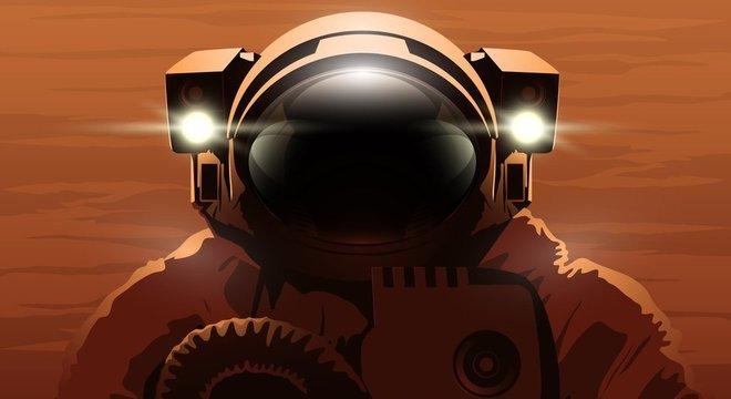 Chegar a Marte é um dos grandes desafios da corrida espacial