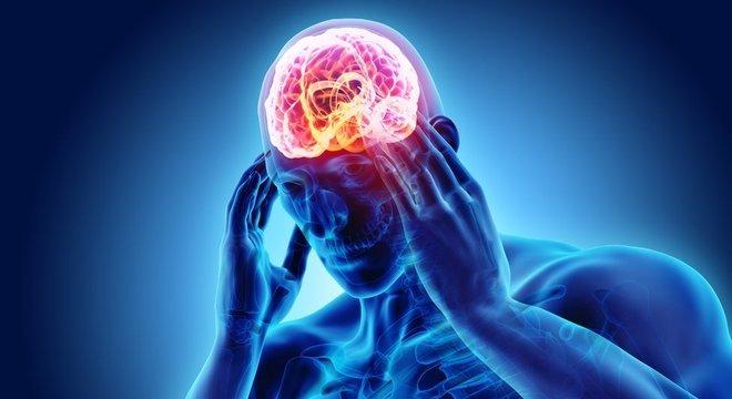 O cérebros não tem terminações nervosas que captam a dor