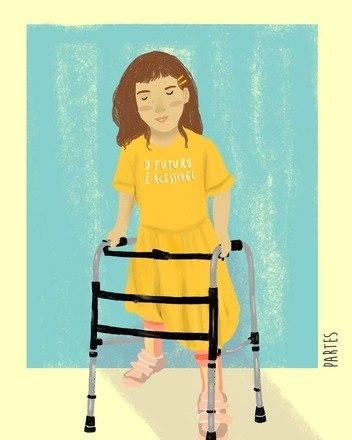 'Só agora foi lançada uma boneca cadeirante, ou seja, tive uma infância e adolescência inteira sem ter pra onde olhar. Isso com certeza me afetou', desabafa