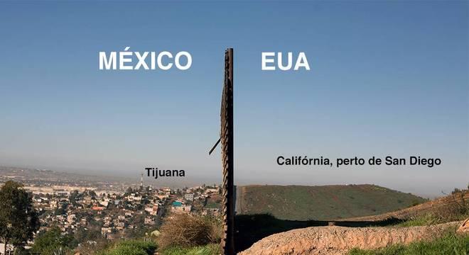 Barreira atual na fronteira entre EUA e México: Opositores dizem que nova construção proposta por Trump é desperdício de dinheiro
