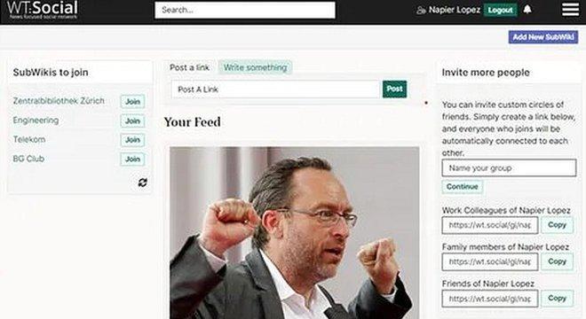 A proposta do site é funcionar com pagamento de assinaturas e não com anúncios ou venda de dados