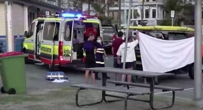 Homem chegou a ser socorrido, mas não resistiu aos ferimentos
