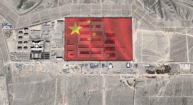 Nos últimos anos, a China tem construído campos de internação para muçulmanos