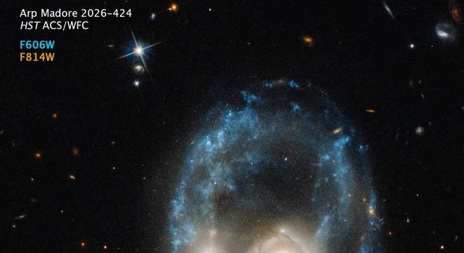 O nome — nada assustador — do que vemos na foto é 'sistema Arp-Madore 2026-424 (AM-2026-424)'