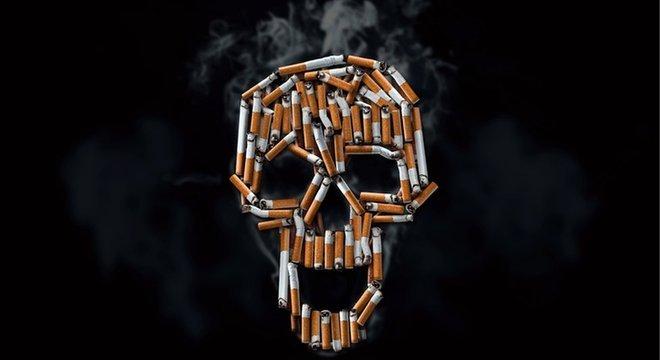O consumo de tabaco, em qualquer que seja a forma, traz riscos à saúde e pode matar