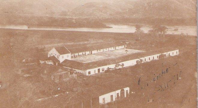 """Imagem mostra uma das fazendas do barão, que teve cerca de mil escravos no conjunto de suas propriedades, o que historiador não vê como contradição: """"Essa era a mão de obra disponível"""""""
