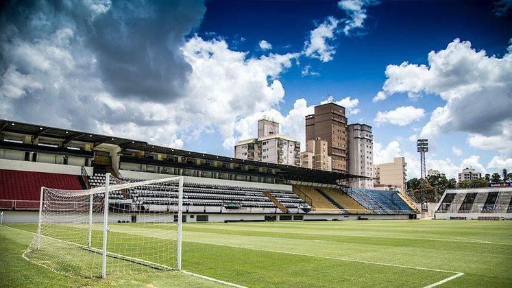 Imagens do estádio após as reformas.
