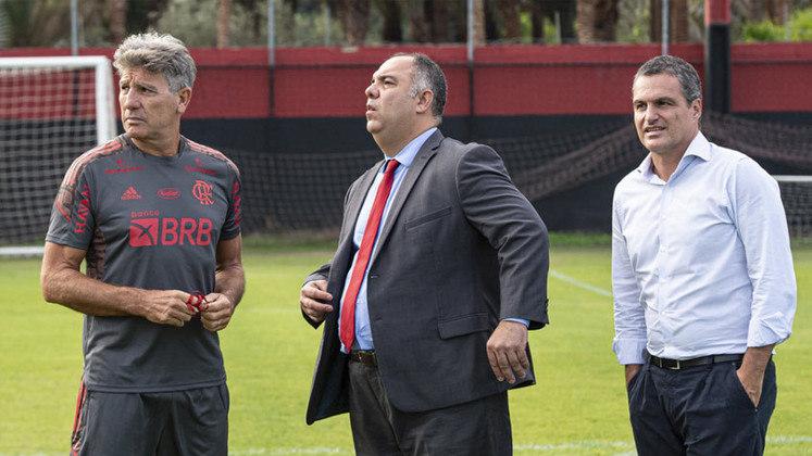 Imagens do primeiro dia de Renato Gaúcho como técnico do Flamengo.
