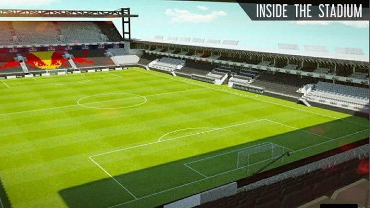 Imagens do projeto da nova arena do Red Bull Bragantino