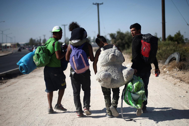 Nova caravana salvadorenhos está a caminho dos Estados Unidos