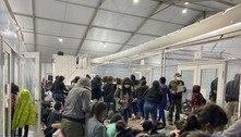Fotos mostram situação precária de imigrantes na fronteira dos EUA